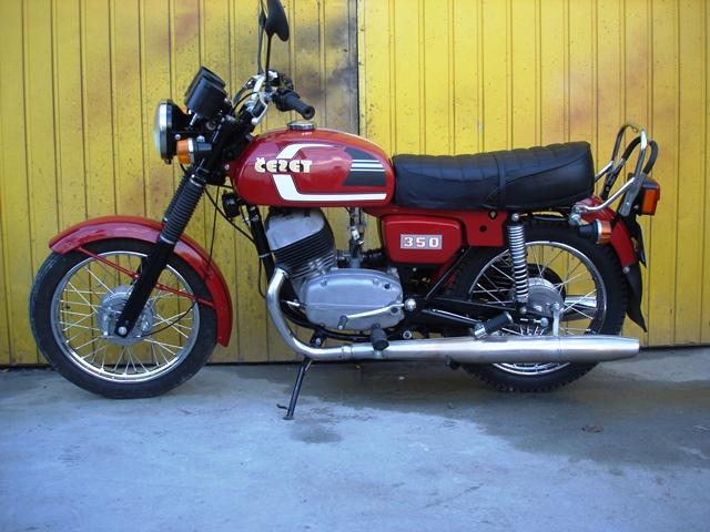 renowacja motocykla CZ 350