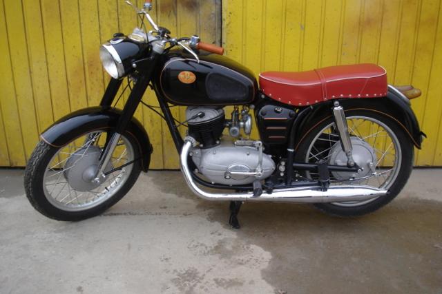 renowacja motocykla Panonia 250 cm³
