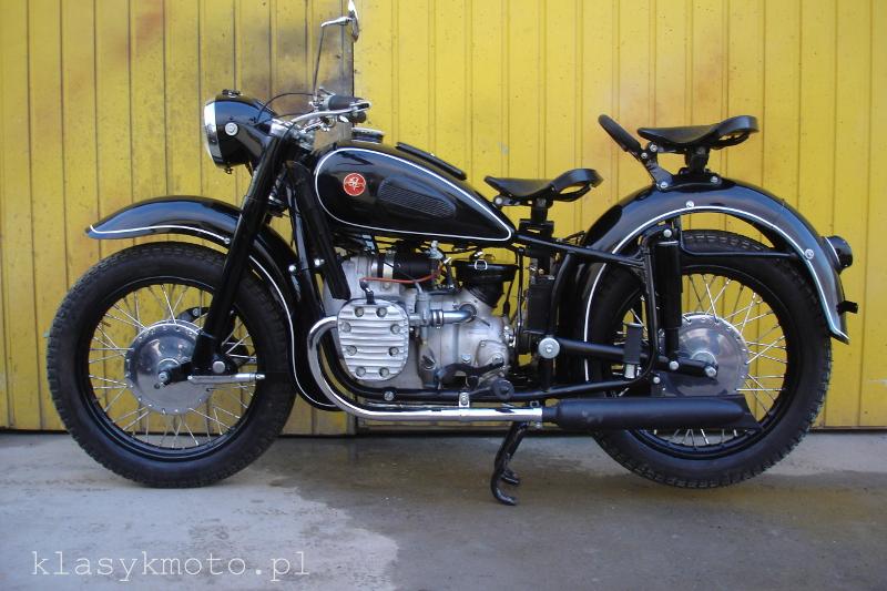 Renowacja motocykla K750