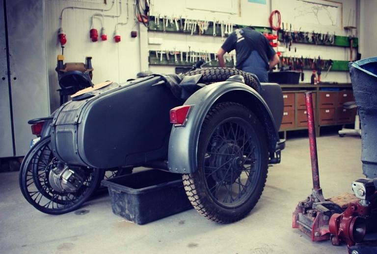 Ural M67 remont