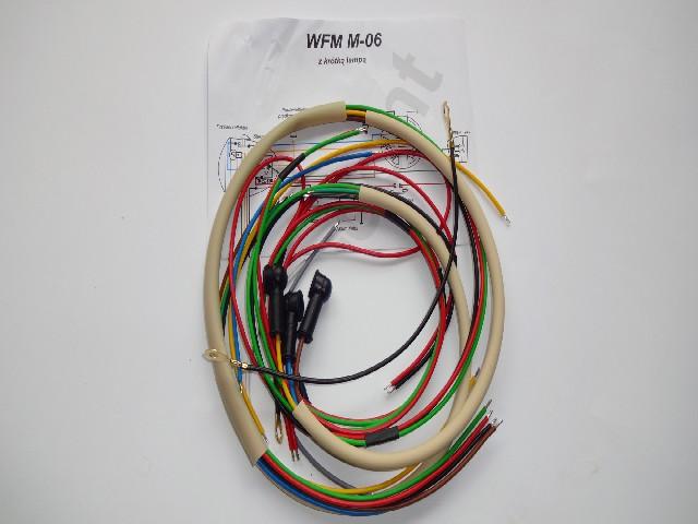 Instalacja elektryczna WFM M 06 ( z krótką lampą)