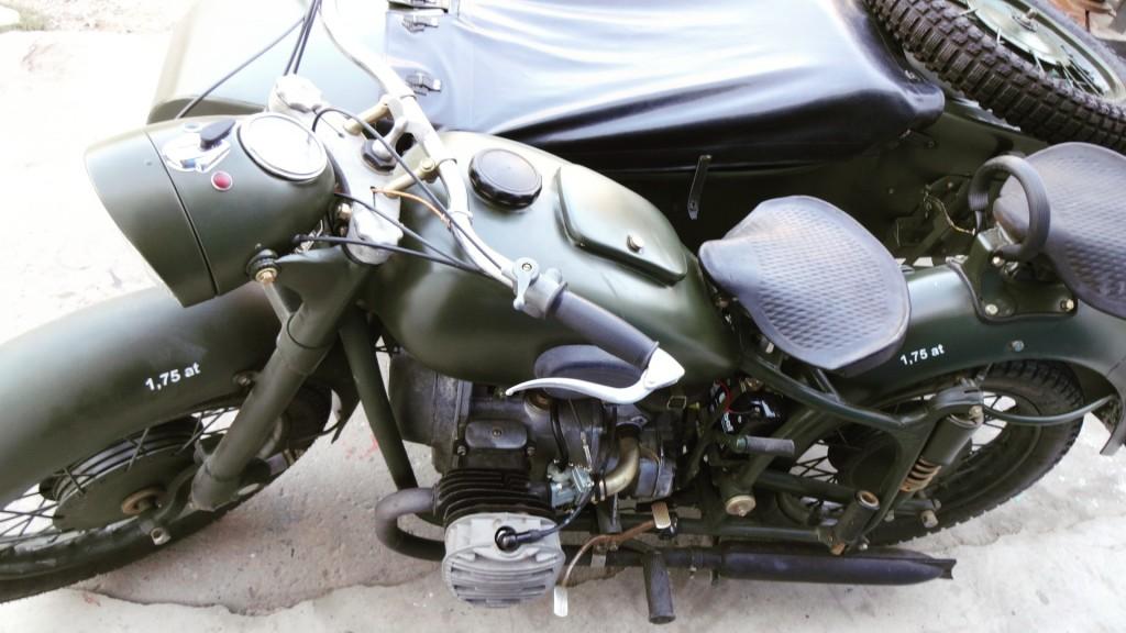 Renowacja K750 na wachaczyku pchanym