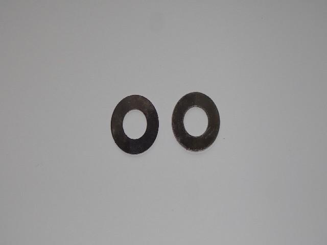 Wfm,Shl, podkładki śrub zawieszenia przód-inox cienka