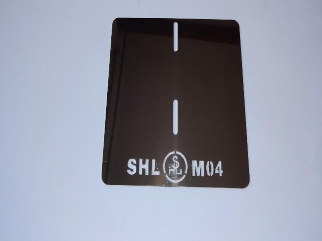 SHL M 04 podkładka/ramka rejestracji dedykowana