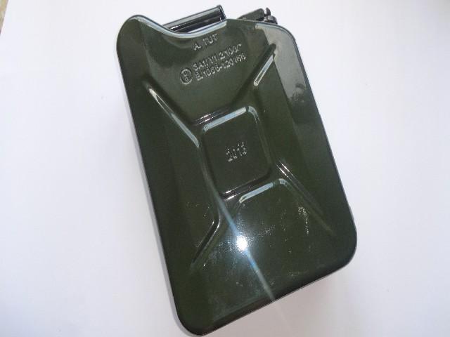 Kanister Dniepr,Ural,M72,K750 zielony 10L