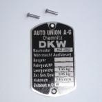 Tabliczka znamionowa Dkw Nz 250