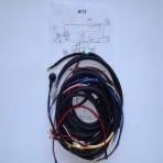 M72 wiązka ,instalacja elektryczna z koszem,schemat,masa
