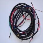 M72 wiązka ,instalacja elektryczna oplot bawełniany z koszem,schemat,masa