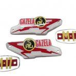 Emblemat logo napis znaczek bak Shl M 17 Gazela